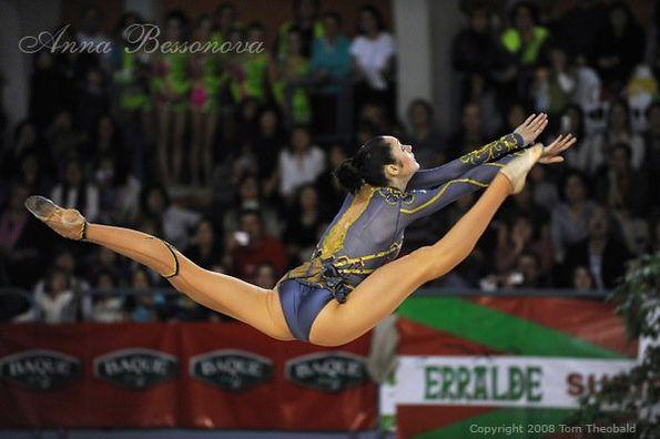 Художественная гимнастика глазами