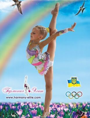 фото девочек гимнасток.