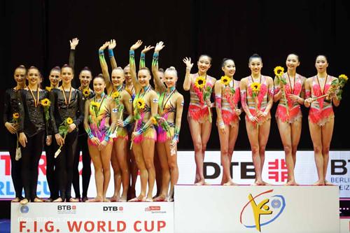 Ризатдинова завоевала «золото» этапа Кубка мира похудожественной гимнастике