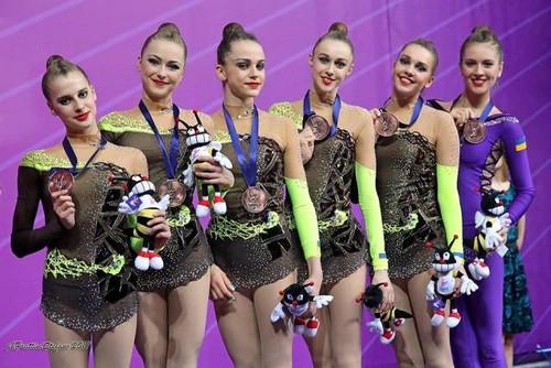 Аверина выиграла этапКМ похудожественной гимнастике вмногоборье