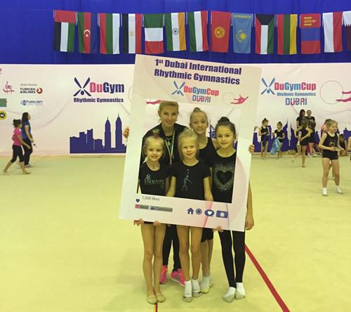 Кристина Пограничная стала абсолютной чемпионкой в Дубае